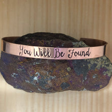 You Will Be Found Cuff Bracelet