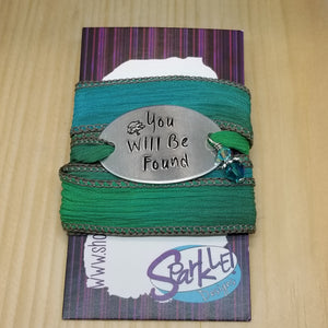 You Will Be Found wrap bracelet