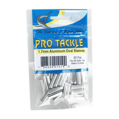 Pro Tackle Aluminum Oval Sleeves