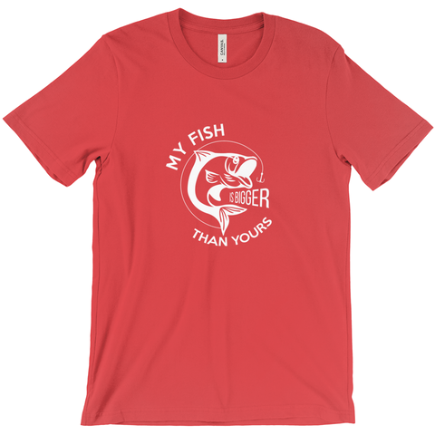 My Fish Is Bigger Than Yours Men's T-Shirt
