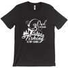 Image of Dad Is My Name Fishing Is My Game Men's T-Shirt