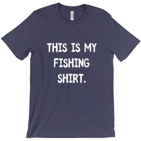 This Is My Fishing Shirt Men's T-Shirt