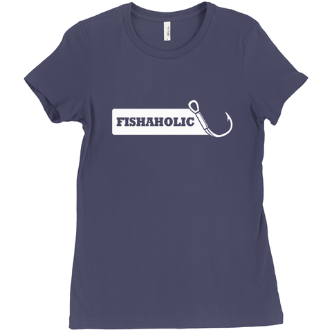 Fishaholic Women's T-Shirt