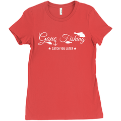 Gone Fishing Women's T-Shirt