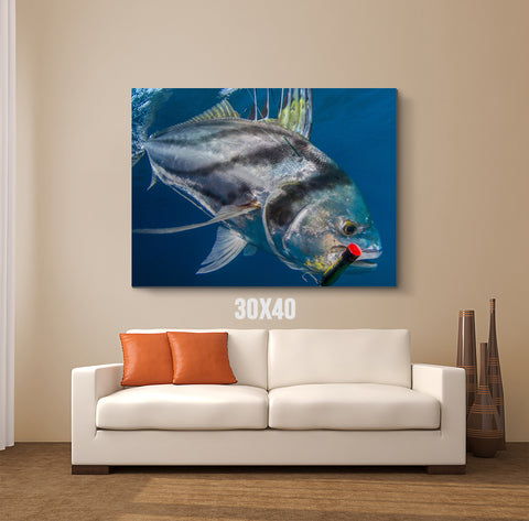 Fish Lure Canvas