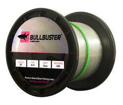 Bullbuster Fluorocarbon Fishing Line - 50 lbs - 0.68 mm