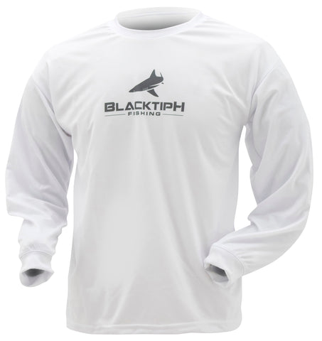 Frogg Toggs BlacktipH LS Youth - White