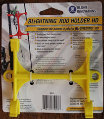 Blightning Rod Holder 030401 HD (Troll And Surf), Gold, Nylon
