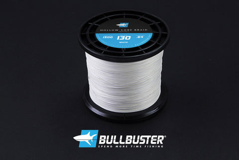 Bullbuster Hollow Core Braid -130 lbs - 0.64 mm