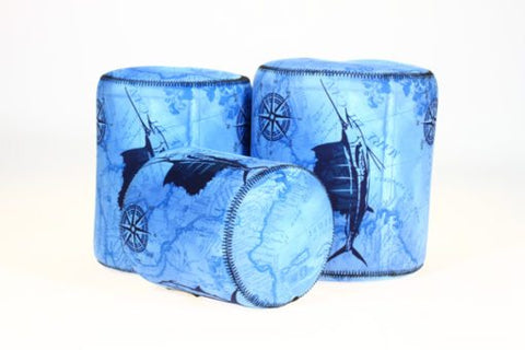 SportFish Antique Blue Reel Cover
