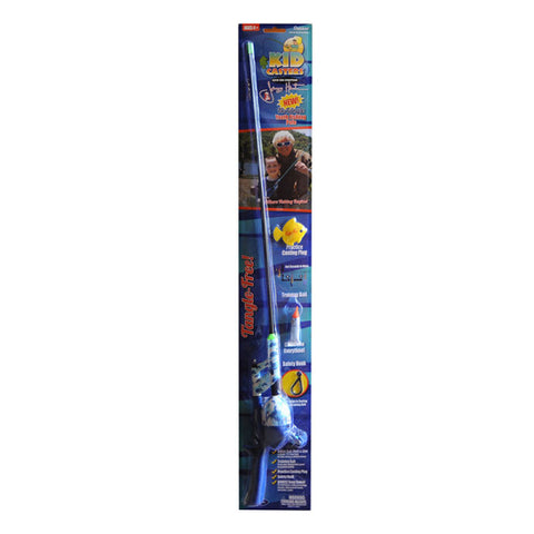 Kid Casters Jimmy Houston No Tangle Boys Fishing Rod