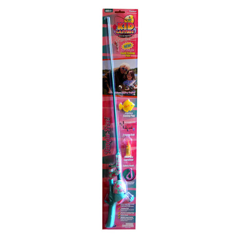 Kid Casters Jimmy Houston No Tangle Girls Fishing Rod