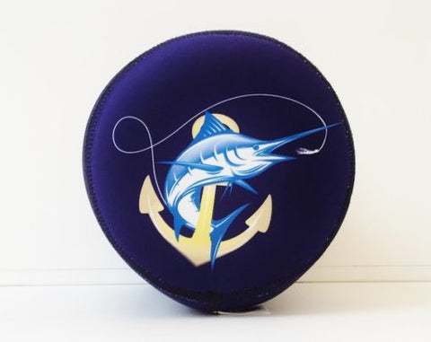 SportFish Navy Anchor Marlin Reel Cover
