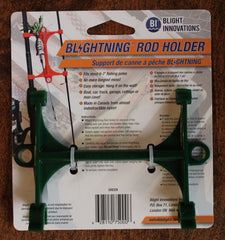 Blightning Rod Holder 010101 MH (Medium Heavy), Green, Nylon