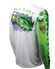 Image of Largemouth Bass Long Sleeve Scale Sun-Shield Youth