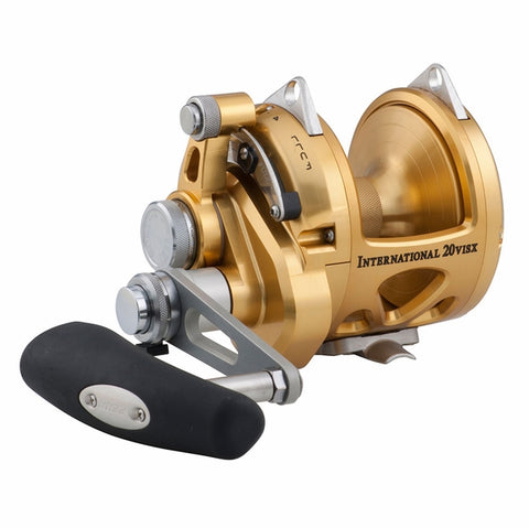 Penn 20VISX International Two Speed Conventional Reel - 20VISX