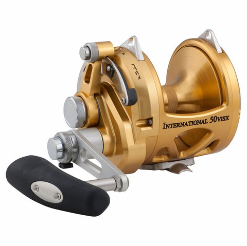 Penn 50VISX International Two Speed Conventional Reel - 50VSX