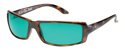 Boca Tortoise Copper Green Salt Life Sunglasses