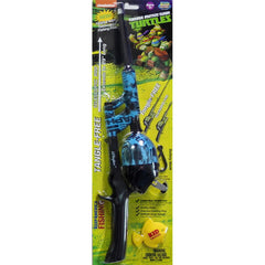Kid Casters Teenage Mutant Ninja Turtles Tangle Free Telescopic Combo – BLUE