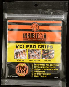The Inhibitor VCI Pro Chip-Counter Display Promo 36 packs
