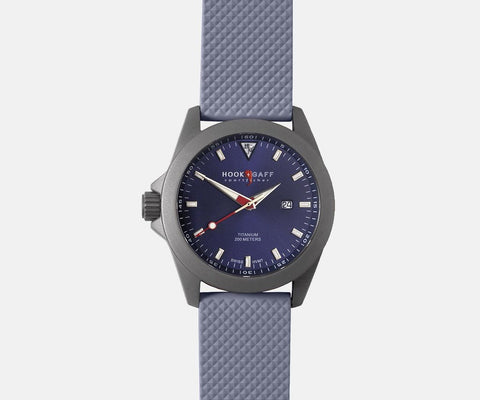 Sportfisher II Classic Blue Dial - Gray Dive Strap