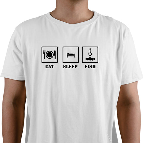 Eat Sleep Fish Men's T-Shirt