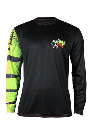 Peacock Bass Performance Long Sleeve Youth