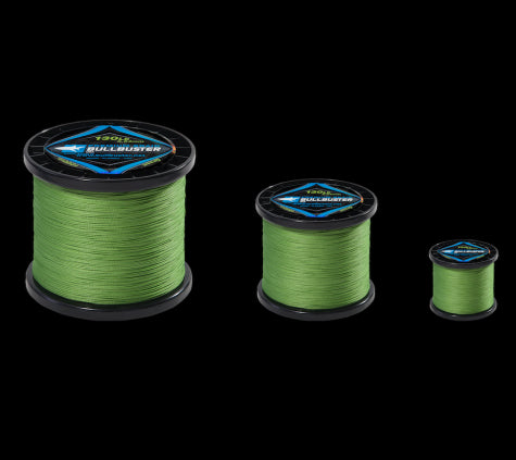 Bullbuster Braided Fishing Line -  100 lbs - 0.55 mm
