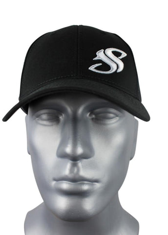 Black Adjustable SS Cap