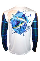 Marlin Long Sleeve Fishing Performance Shirt Youth