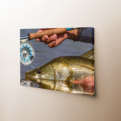 Fishing Reel Canvas