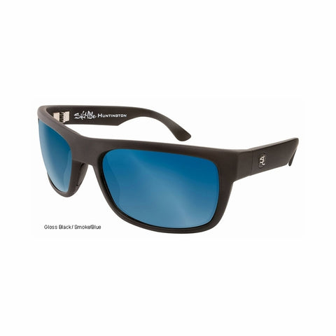 Huntington GBK Smoke Blue Salt Life Sunglasses