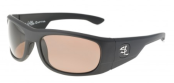 Captiva Matt Black Salt Life Sunglasses