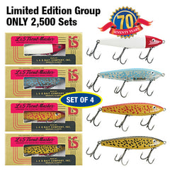 Trout Master Series  55 Set of 4  Sinking Twitchbait