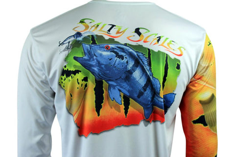 Peacock Bass Performance Long Sleeve