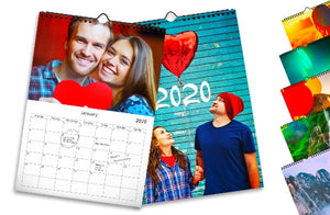 5 Calendarios de pared x 5