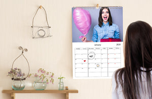 Calendarios de pared x 10