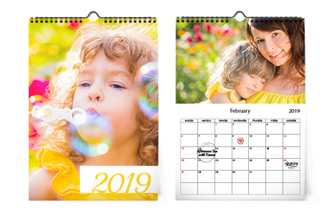 10 Calendarios de pared A4