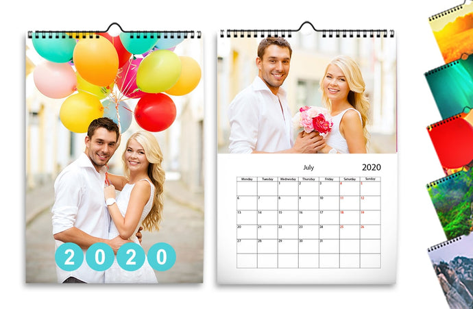 Calendarios de pared x5
