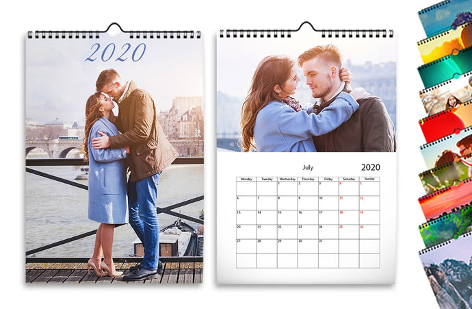 Calendarios de pared x10