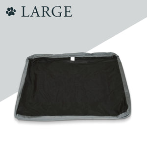 Daisy Elliott Replacement Cover for Luxury Dog Bed (Large, Slate grey)