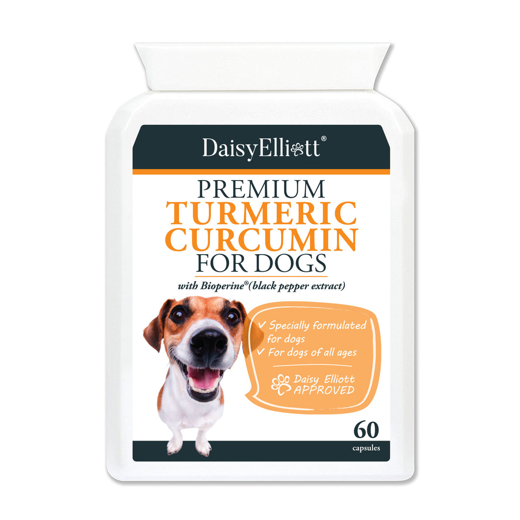Turmeric Curcumin For Dogs - 60 Capsules