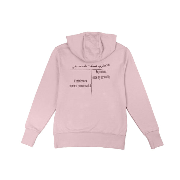 YSH-125 Experiences made my personality Hoodie