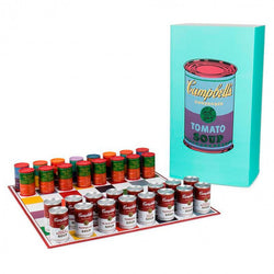 Andy Warhol X Kidrobot Limited Edition Campbells Soup Can Chess Set