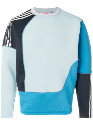 ADIDAS BY KOLOR CD71 SPACER CREW SWEATER