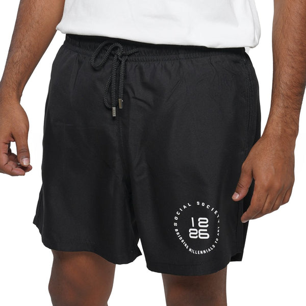 SWIMMING SHORT BLACK