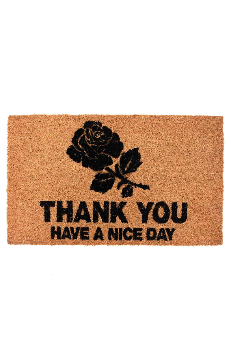 THANK YOU DOORMAT