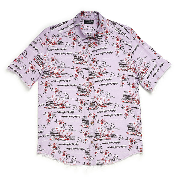 HAWAII Floral Print Shirt