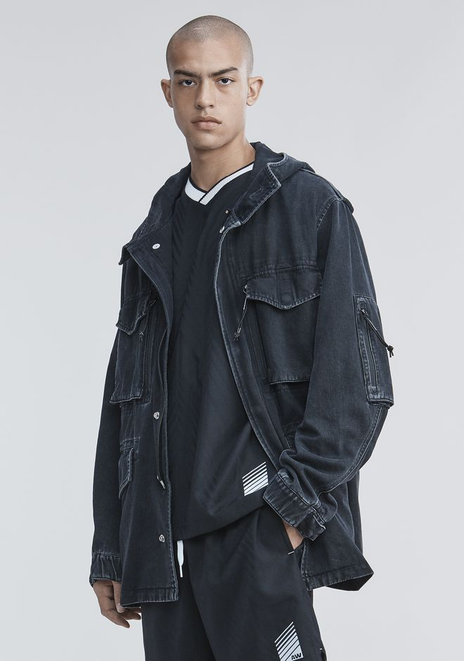 ALEXANDER WANG DENIM JACKET BLACK M