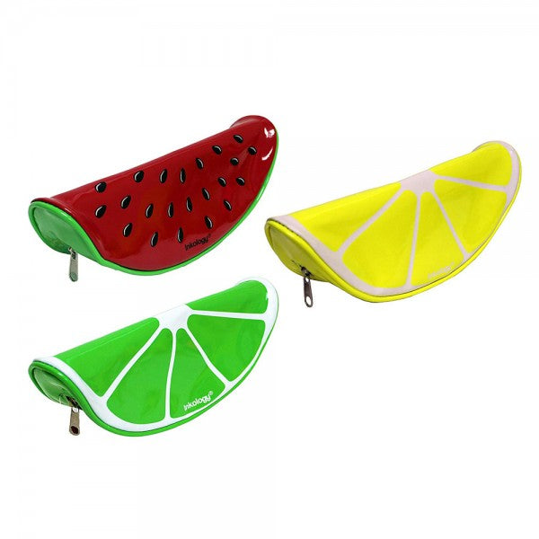 Inkology Fruit Shape Pencil Case Pouch